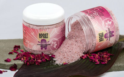 Boost My Vibes Spirit Revitalizing Salt Baths