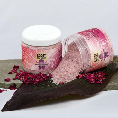 Boost My Vibes Spirit Revitalizing Salt Baths