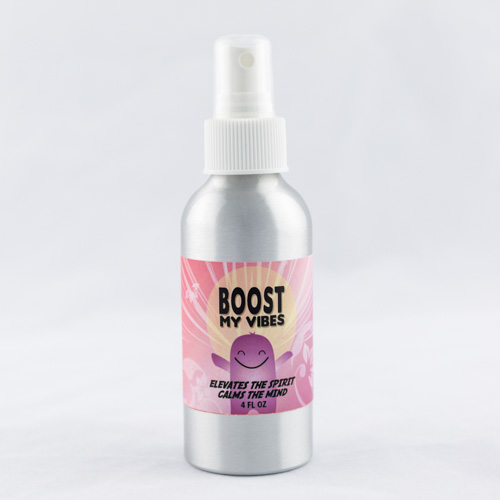 Boost My Vibes Spray: Elevates the Spirit, Calms the Mind