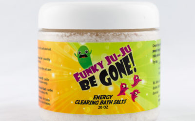 Energy Clearing Bath Salts: Funky Ju-Ju Be Gone!