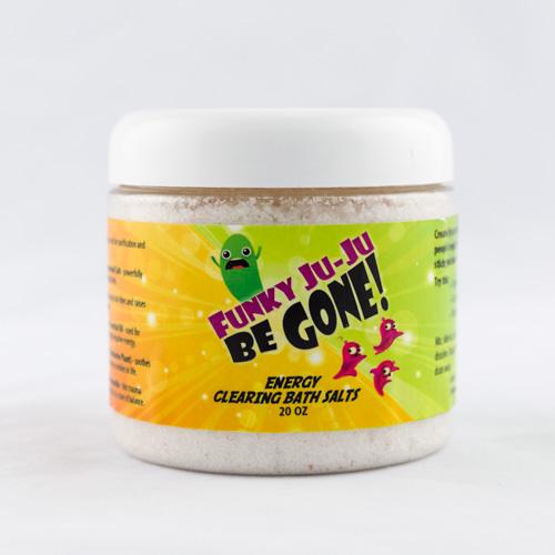 Energy Clearing Bath Salts: Funky Ju-Ju Be Gone!