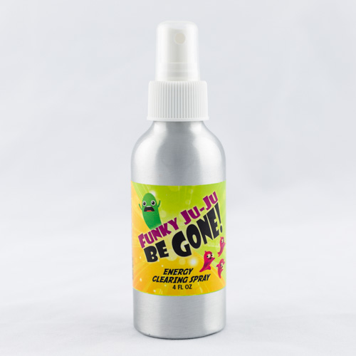 Energy Clearing Spray:  Funky Ju-Ju Be Gone!